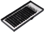 100% Real Mink Fur Eyelashes C Curl 15 x 8-15mm
