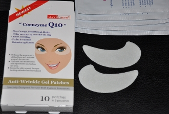 Eyelash Extension MAX2 Coenzyme Q10 Under Eye Pads Patches x 25