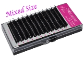 Mixed Size Alluring Silk Mink B Curl Eyelash Extension