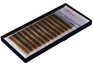 Alluring Double Dual Tapered Lashes Silk Trays Eyelash