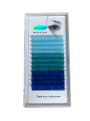 Alluring Volume Color Lashes - 3 Shades of Blue C .07mm