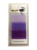 Alluring Volume Color Lashes - 3 Shades of Purple C .07mm