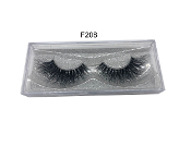100% Siberian Real Mink Strip Lashes - F208